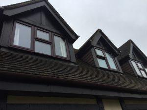PVC-ROSEWOOD--casement windows