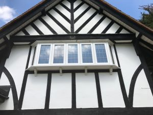 PVC-WHITE-BAY windows