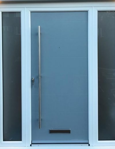 smooth composite front door