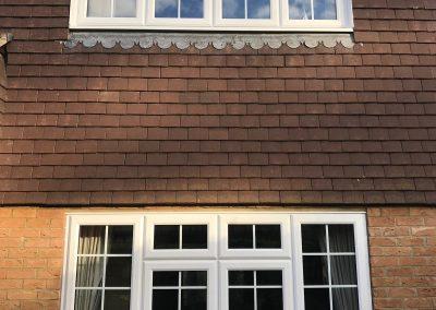 white casement windows 3
