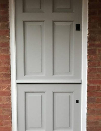 wooden front door stable door bespoke wood